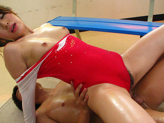 Gymnast Aoyama Arisa fucked so much in pussy