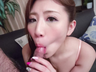 Mai Kamio sucks cock and provides excellent scenes